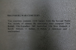 Rheinberg War Cemetary inscription