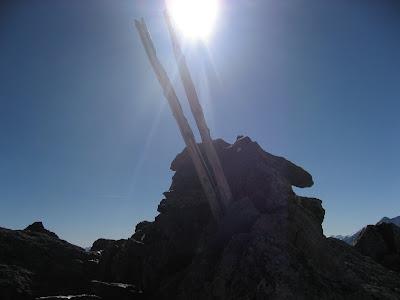 Gipfelaufbau Tuferspitze - Suedtirol
