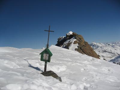 Gipfelkreuz Schwemserspitze - Suedtirol