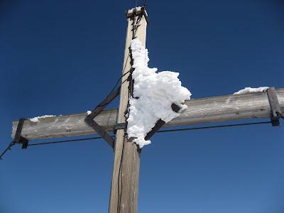 Gipfelkreuz Gschnitzer Tribulaun