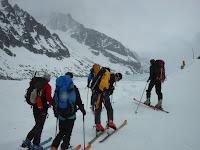 Argentière, 1200m – Argentièrehütte, 2771m