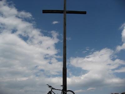 Gipfelkreuz Gantkofel