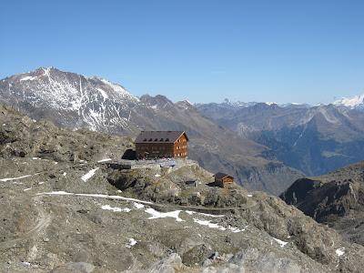 Stettiner Hütte vom Eisjöchl