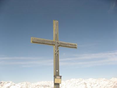 Gipfelkreuz Kolbenspitze