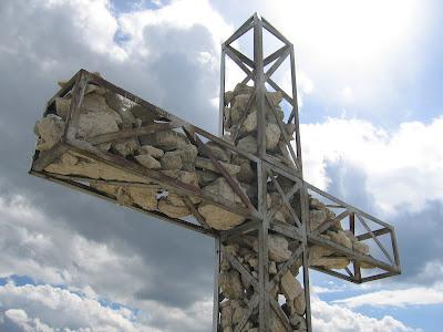 Gipfelkreuz Cirspitze - Dolomiten