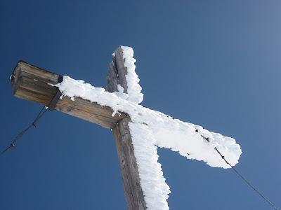 Gipfelkreuz Piz Buin - Silvretta