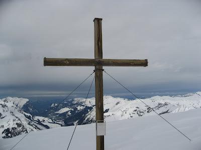 Gipfelkreuz Juppenspitze - Lechtaler Alpen