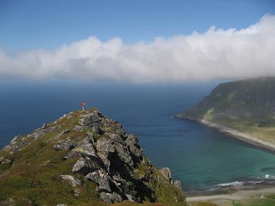 Höhenmeter: alle Wanderungen auf den Lofoten starten auf Meereshöhe