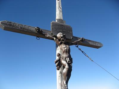Gipfelkreuz Samsspitze - Suedtirol