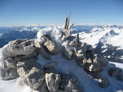 Gipfelaufbau Cima dei Bureloni - Palagruppe