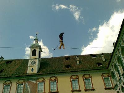 Christian Waldner Highline Hofburg Brixen