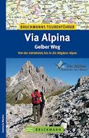 Wanderführer Via Alpina / Bruckmann