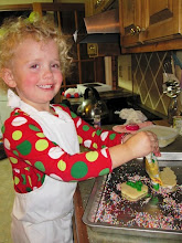 Decorating Christmas Cookies for the Hot Chocolate Tea Party!
