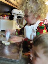 Decorating More Sugar Cookies!