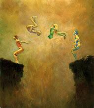 O salto...