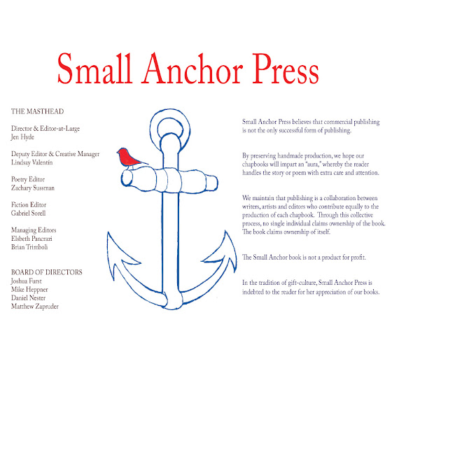 Small Anchor Press