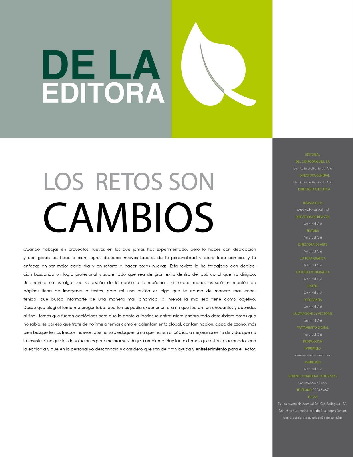 Dise o editorial kreative kd - Paginas de diseno de interiores ...
