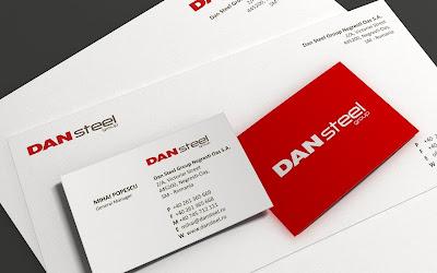 identitate vizuala Dan Steel