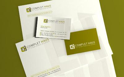 design logo Complet Haus
