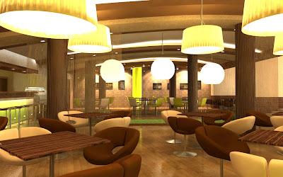 design cafenea Arena Galati