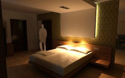 Design dormitor minimalist