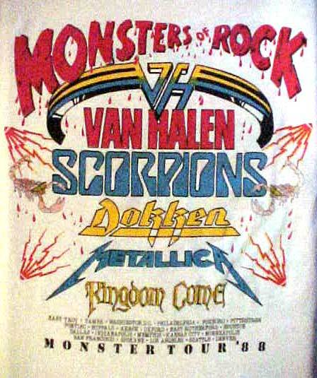 Deniz and Kenny Original Songs: Van Halen Monsters of Rock 1988