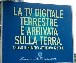 La TV Digitale Terrestre è arrivata sulla terra