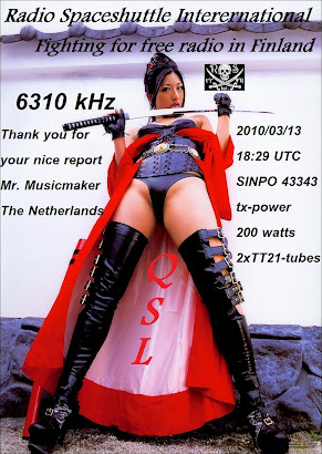 New Qsl of RAdio Spacehuttle