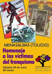 victimas del franquismo en Menasalbas