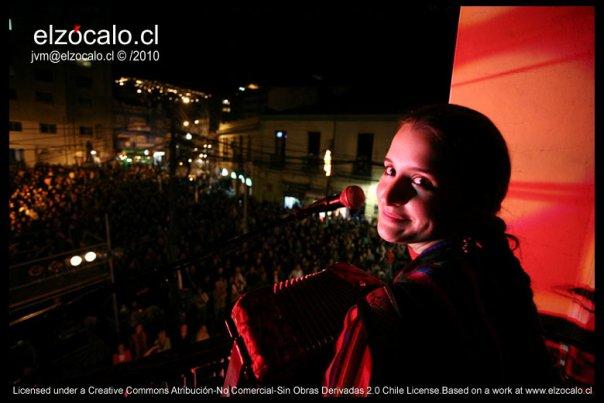 Pascuala en Noche de balcones