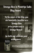 Strange Men In Pinstripe Suits Blog Award