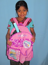 Our sponsor student through Mayan Families