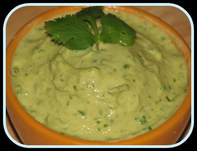 Serve avocado dip for dinner