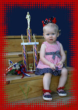 Lil Miss Canton also won Best Patriotic Wear