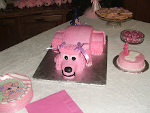 Pink Poodle Party cake