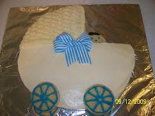 Brady's Shower Cake