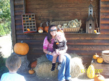 My baby girl at the Pumpkin Patch