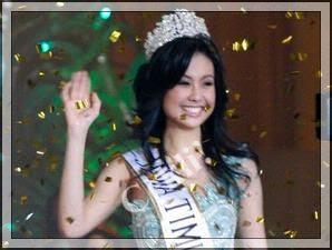 sandra angelia, miss indonesia 2008 dari jawa timur
