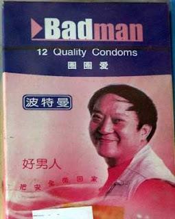 funny pics badman condoms