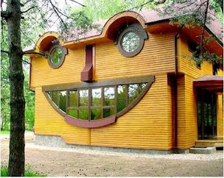 funny house pics smiling windows and eyes with nose