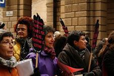 DIN  alla manifestazione dell' 8 marzo