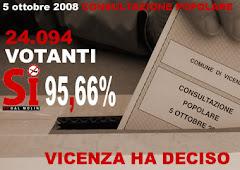 Vicenza ha deciso