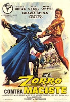 ZORRO CONTRA MACISTE - 1963