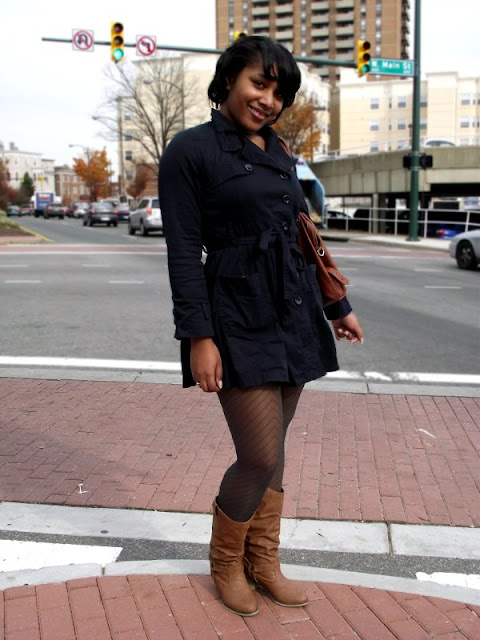 tights and brown boots, womens street style in Richmond, Virginia Street style, richmond street style, southern fashion, womens southern fashion, southern street style, RVA fashion