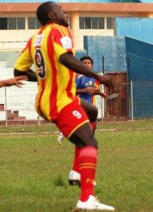 Dzumafo Herman, Striker PSPS Pekanbaru