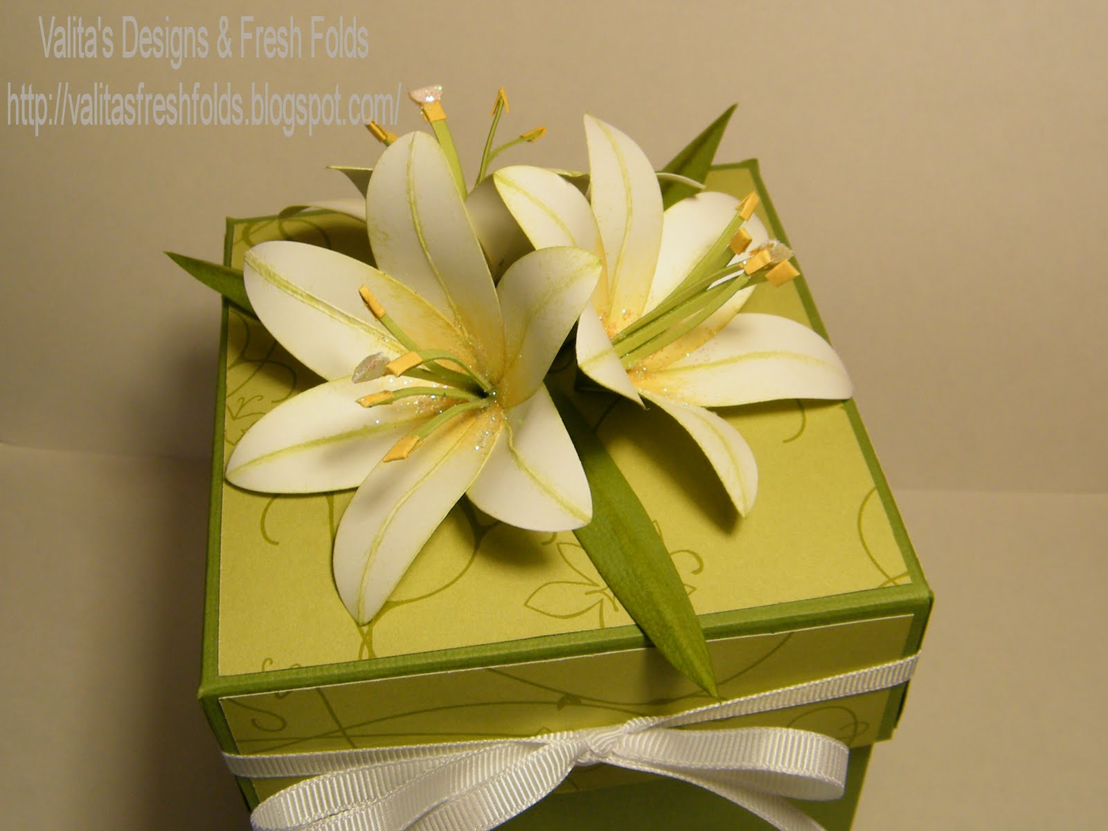Valitas designs fresh folds punched paper lily monday june 7 2010 izmirmasajfo