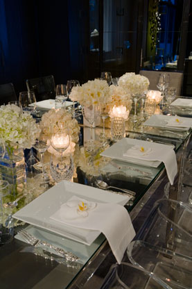 Focal point styling how to make a wintry centerpiece for Wedding table dressing ideas