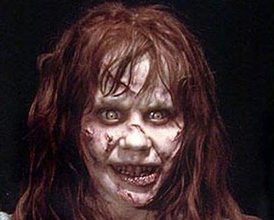 Disfraz de niña del exorcista