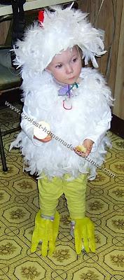 disfraz de pollito para nio