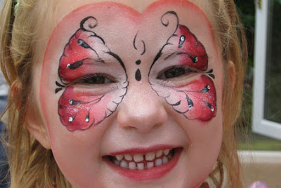 Girl Face Painting Designs